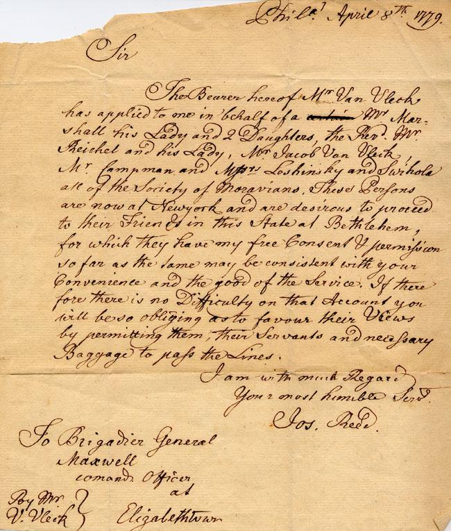 American Revolution Love Letters